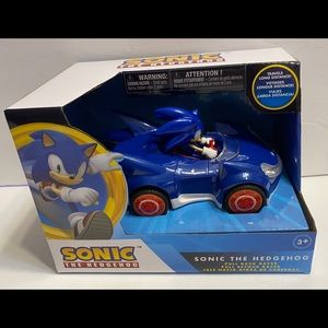 Official Sonic the Hedgehog Racing Pull Back Racer